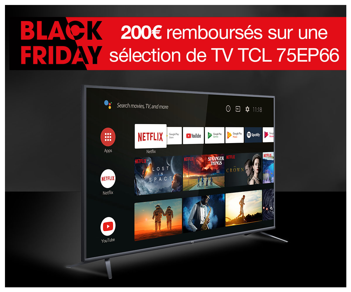 ODR TCL 75EP66 BLACK FRIDAY